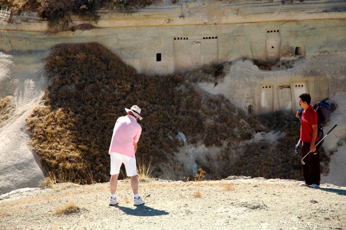 CrossGolf in World Heritage Cappadoccia