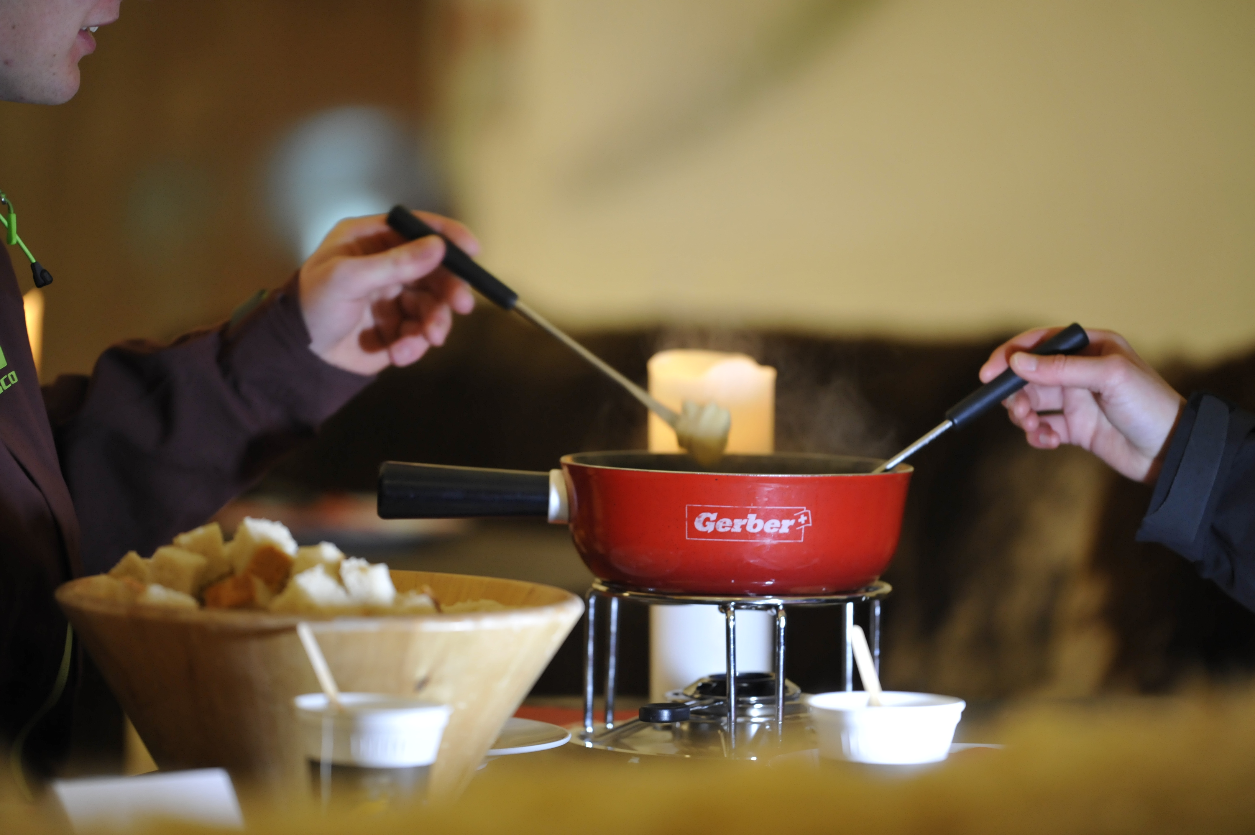 Five tons of cheese fondue