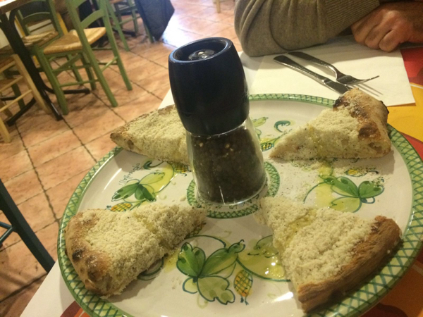 Re-Inventing Pizza in Rome with Trapizzino