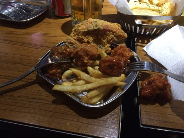 Korea Fried Chicken and Itaewon