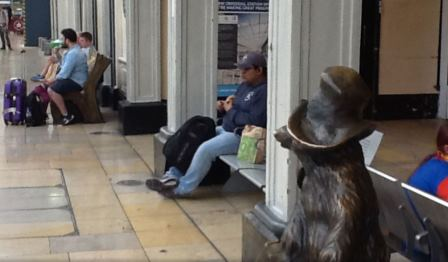 Finding Paddington in London