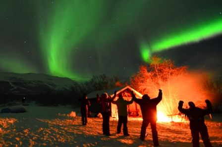 Aurora Skystation in Swedish Lapland