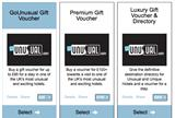 Gift Vouchers from GoUnusual