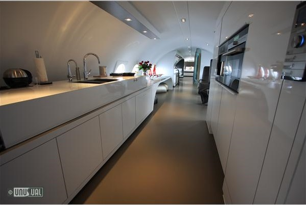 Plane In Holland Converted To Luxury Suite For Couples