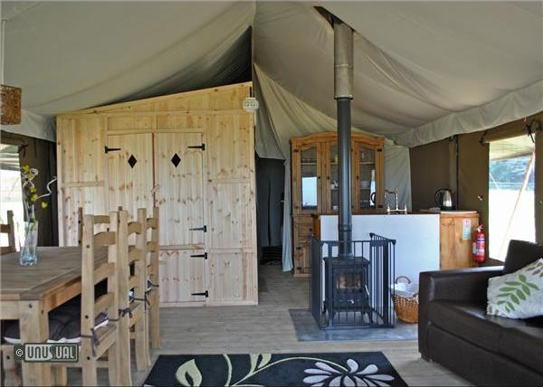 Glamping At Aspinall Nature Reserve
