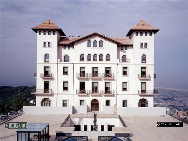 gran hotel la florida in barcelona spain. Black Bedroom Furniture Sets. Home Design Ideas