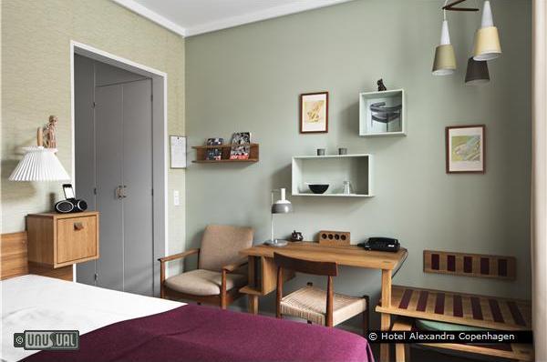 hotel alexandra in copenhagen offers a danish designer experience. Black Bedroom Furniture Sets. Home Design Ideas