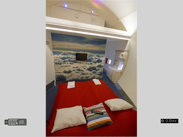 Sleep In A Jumbo Jet At Arlanda Airport