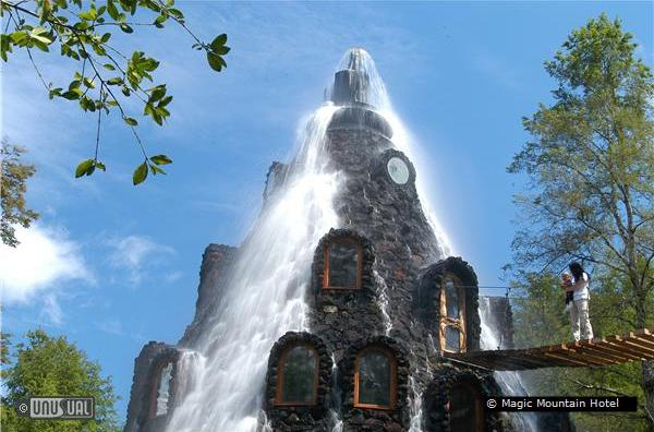 Magic mountain hotel in panguipulli chile for Top unique hotels in the world