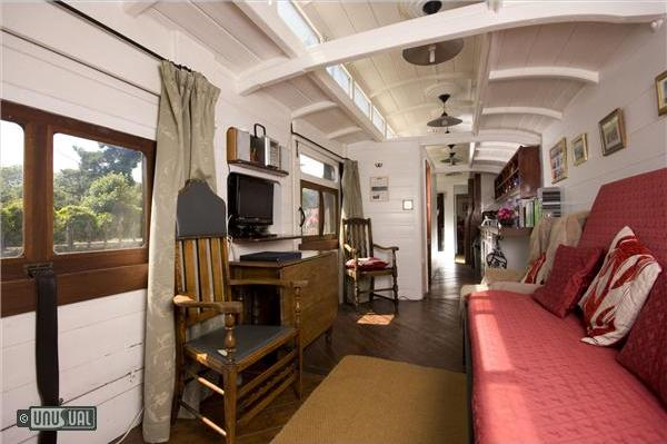 Railholiday Vacation Rental Railway Carriages In Cornwall