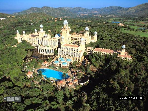 Sun city in north west province south africa unusual for Top unique hotels in the world