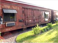 Northern Rail Train Car Hotel